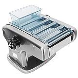 Macchina per Pressare la Tagliatella, Macchina Elettrica per Noodle 4 Lame, Pressa per Pasticceria Completamente Automatica per Pasta Fatta in Casa/Involucri per Gnocchi/Involucri per Pasta(EU)