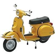 スカイネット 1/12 完成品バイク VESPA P200E (1978/イエロー)