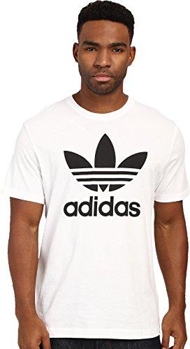 adidas Originals Men's Trefoil Tee, X-Large, White