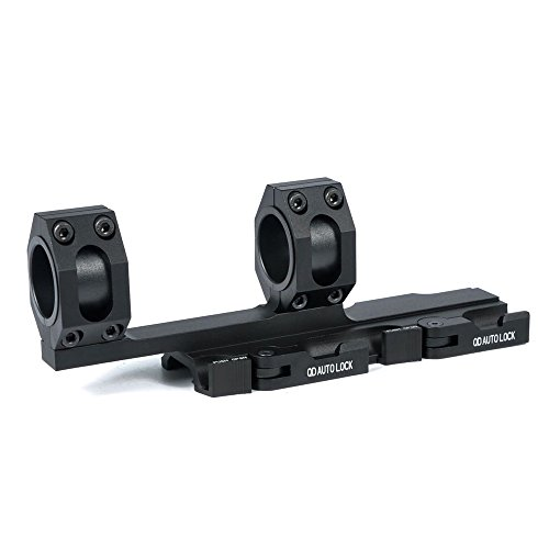 BigTron 25mm/30mm Dual Rings Tactical Scope Mount 180mm Long QD Scope Sights Mounting Ring for 20mm Picatinny Weaver Rails