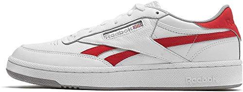 Reebok Revenge Plus Mu, Zapatillas de Deporte para Hombre, Multicolor (White/Primal Red/Tin Grey 000), 44 EU