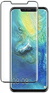 Huawei Mate 20 Pro (6.39) 3D Curved Full Coverage Tempered Glass Screen Protector For Mate 20 Pro Mobile With Black Frame