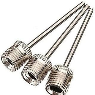 Fun Store 3Pcs Inflating Needle Pin Nozzle Basketball/Football Ball Air Pump