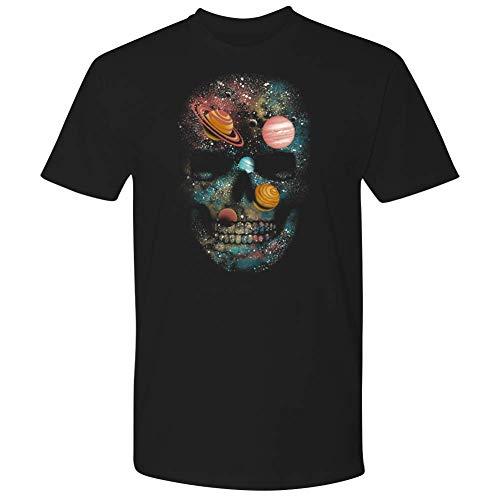 It's Always Sunny in Philadelphia Planet Skull Black T-Shirt