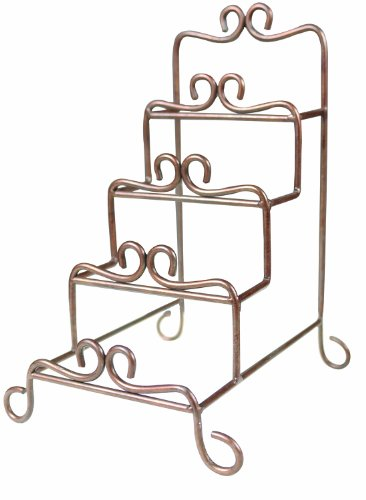 Manual Metal Tiered Plate Racks, Mini, Set of 2