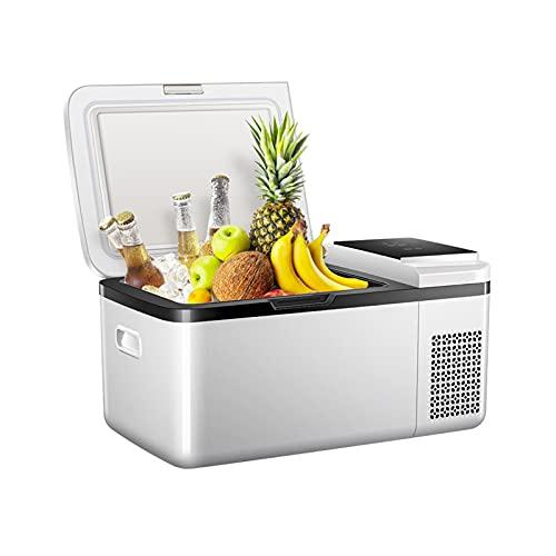 LK-HOME Mini Nevera, 19L De Gran Capacidad -20 ℃ -20 ℃ Refrigerador Portátil para Automóvil De Enfriamiento Rápido, Adecuado para La Oficina En El Hogar Y El Dormitorio del Automóvil