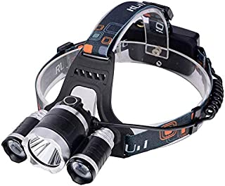 Camping Headlamp, 5000 Lumens, 3 LED Lamps from OEM.