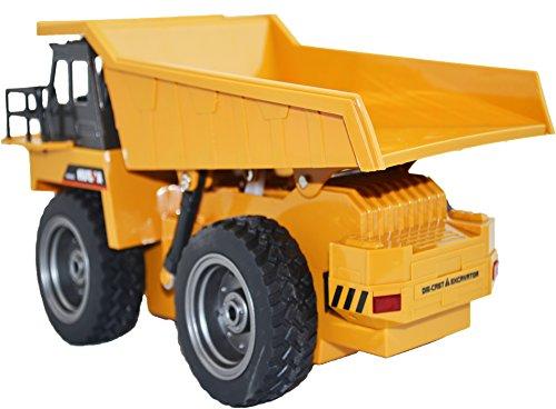 RC Auto kaufen Baufahrzeug Bild 2: GYD RC ferngesteuerter Kipplader Baufahrzeug, 3 Kanal, mit Akku Spielzeug Spiel Trecker Bagger Ferngesteuert mit LED und SOUND NEU*