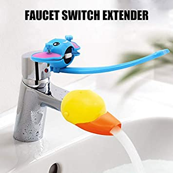 YZCH Faucet Extender Sink Handle Extender Safe Faucet Extension Attachment for Toddlers Kids