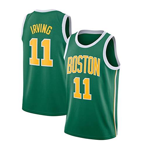 NBA Jersey 0# Tatum 11# Irving 7# Marrón 20# Camiseta Hayward Chaleco Deportivo de Baloncesto
