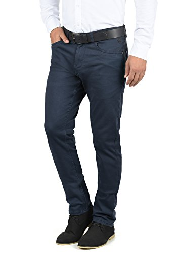 Blend Saturn Herren Chino Hose Stoffhose Aus Stretch-Material Regular Fit, Größe:W32/30, Farbe:Navy (70230)