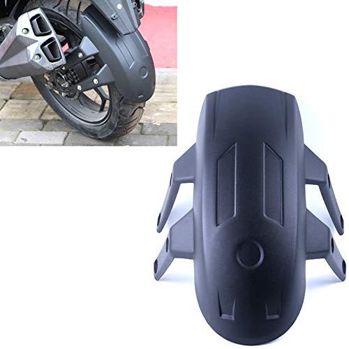 Motocicleta Fender Negro motocicleta Vespa Guardabarros universal Fender Accesorios Cubierta trasera Soporte for la rueda trasera de la motocicleta Fender Protección contra salpicaduras Guardabarros d