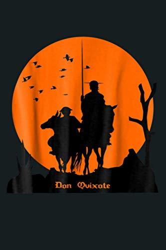 DON QUIXOTE SUNSET T SHIRT Literature UNISEX: Notebook Planner - 6x9 inch Daily Planner Journal, To Do List Notebook, Daily Organizer, 114 Pages