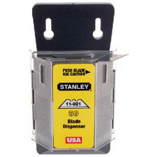 Stanley 11-921A Classic 1992 Heavy Duty Knife Blades Dispenser, 100 Pack