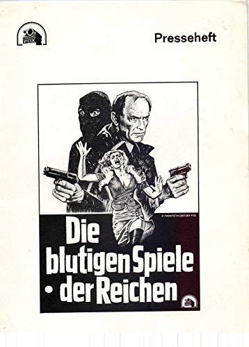 Die blutigen Spiele der Reichen - Franco Citti - Marcel Bozzuffi - Presseheft