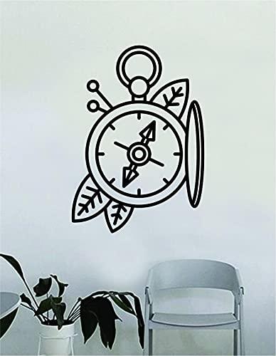 Compass v5 - Adhesivo decorativo para pared (vinilo), diseño de brújula