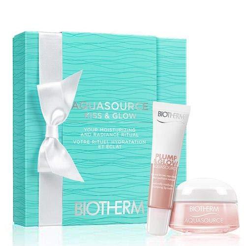Biotherm Gesichtspflege Aquasource Kiss & Glow Geschenkset Aquasource Crème Riche 15 ml + Lip Balm Plump & Glow 13 ml 1 Stk.