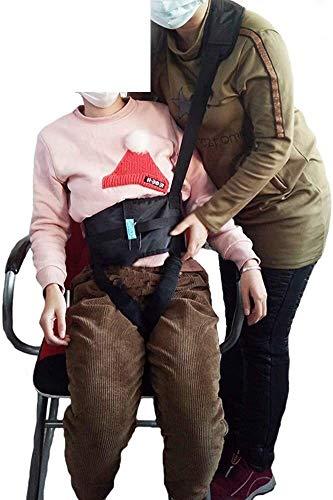 Tragbare Patientenlift Gürtel Verstellbare Träger mit Schultergurte Pflege Sicherheit Gait Assist Gerätepatientenlift Sling-Bein-Schenkel Arm Lendenwirbel Relief Trainer Tragfähigkeit 0406