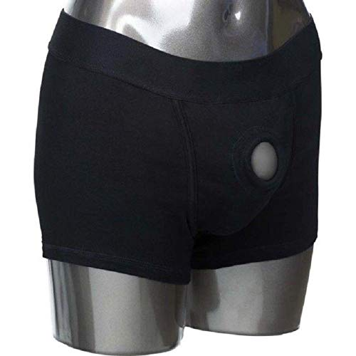 Black Boxer Strap-Ôn Easy Harness L/XL