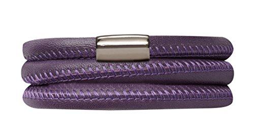 Endless 12106-60 Leder-Armband Lila 60 cm