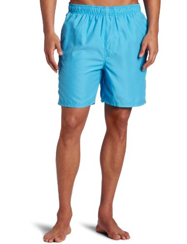 Kanu Surf Men's Havana Swim Trunks (Regular & Extended Sizes), Aqua, X-Large