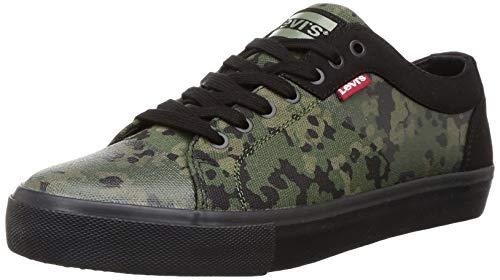 Levi's Men Woodward Dark Khaki Sneakers-9 UK (43 EU) (10 US) (38099-1360)