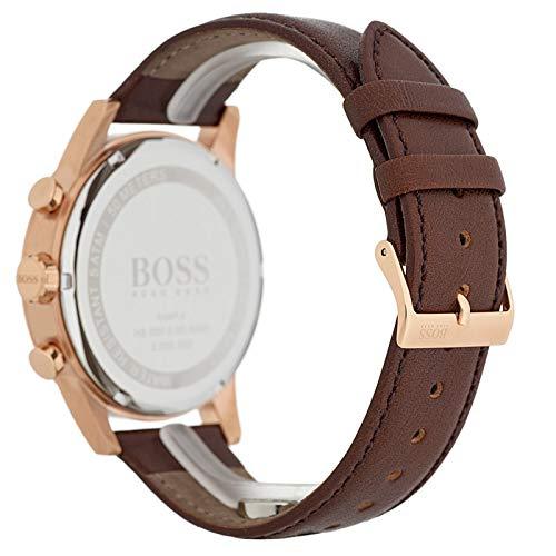Hugo Boss Boss Herren-Uhren Analog Quarz Leder 32000893