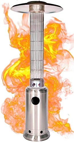 N / A Outdoor Patio Heater, Stainless Steel Portable Outdoor Heat Lamp, Adjustable Outdoor Heaters, Suitable For Indoors And Outdoors (Liquefied Gas) (Color : C)