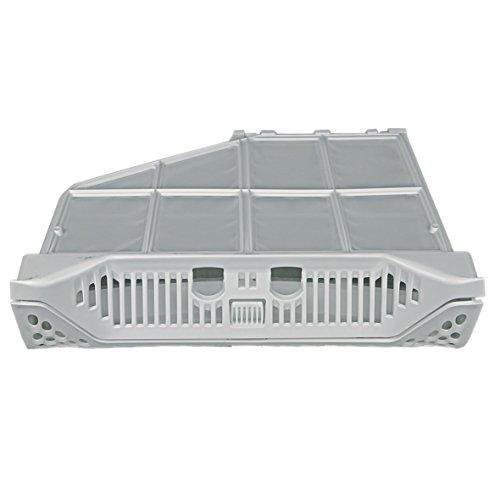 ORIGINAL Electrolux AEG 136667102 Feinfilter Filter Filtertasche ausklappbar Sieb Wäschetrocknerflusenfilter Flusensieb 331 x 82 x 240 mm weiß Wäschetrockner Trockner
