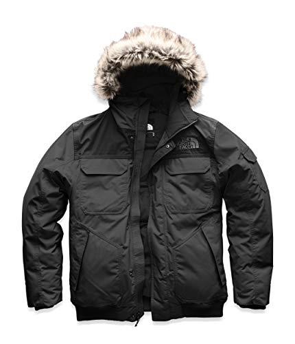 The North Face Men's Gotham Jacket III, Asphalt Grey/TNF Black, 1X