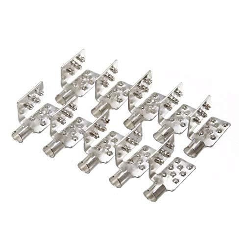 Quetsch-Verbinder 10er Set für Infrarot Heizfolie Installation, Crimp-Verbinder