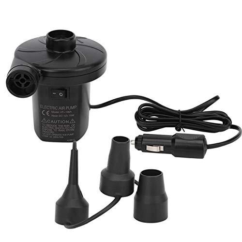Eddwiin Bomba de Aire eléctrica Bomba de Aire eléctrica portátil, 180V-240V, para colchones de Aire, Balsas, sofás, bañera, Bote, Anillos de natación, etc.(Vehicle DC Pump)
