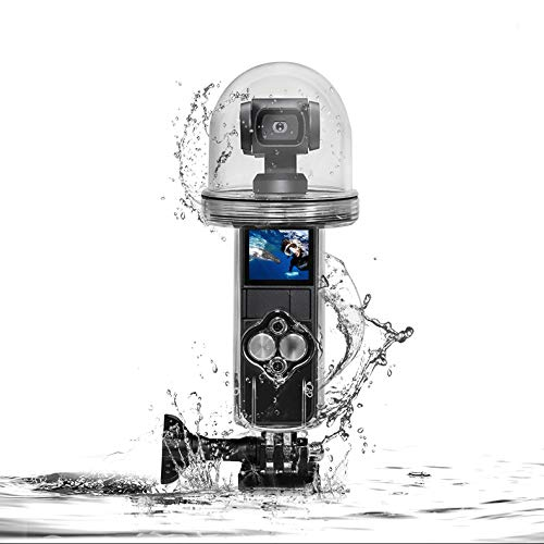 WSpring Waterproof Housing Case for DJI Osmo Pocket Accessories, 60M Underwater Diving Protective Housing Shell Accessories Kit