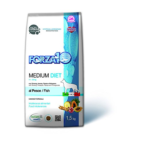 Forza 10 Medium Diet Pesce Secco Cane kg. 1,5 - Mangimi secchi per Cani