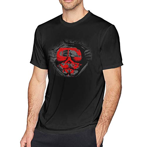 Herren Kurzarm T-Shirt Ich Bin Nicht Dein Muskelmann Gedruckte sportlich lässige T-Shirts für Männer Stilvolles Oberteil
