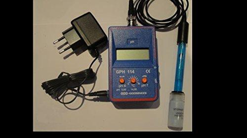 Greisinger pH-Messgerät GPH114D zur Dauermessung komplett mit Elektrode