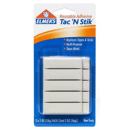 Elmers Tac N Stik Reusable Adhesive