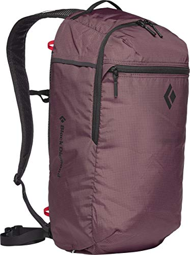 Black Diamond Trail Zip 18 Rucksack, Mulberry