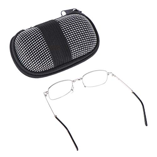 LEORX Klappbare lesen Gläser Anti-Müdigkeits klare Vision Eyewear 1,50 mit Schutzhülle