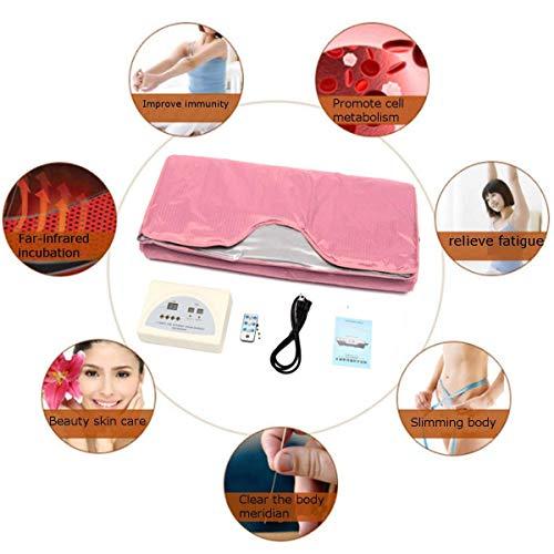O hUkOeR Upgraded Version Far-Infrared (Fir) Digital Heat Sauna Slimming Blanket Body Shaper Weight Loss Professional…