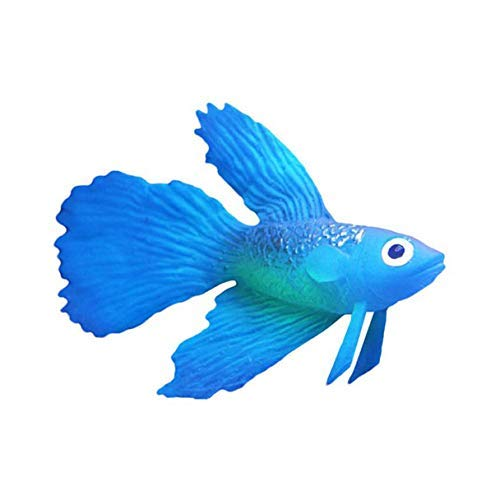 N-K Künstliche Faux Fake Lion Fisch Glowing Effect Aquarium Decor Floating Ornament Eine kostengünstige und langlebige