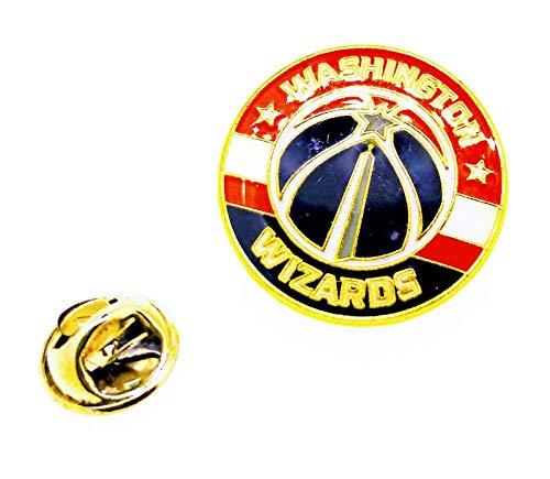 Gemelolandia | Pin de solapa NBA Washington Wizards 25mm | Pines Originales Para Regalar | Para las Camisas, la Ropa o para tu Mochila | Detalles Divertidos