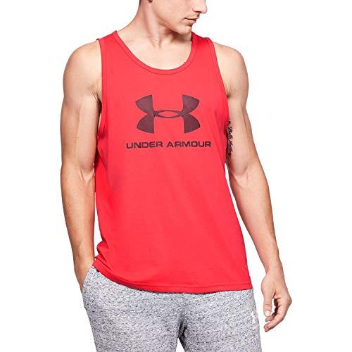 Under Armour Camiseta sin Mangas con Logotipo Sportstyle para Hombre
