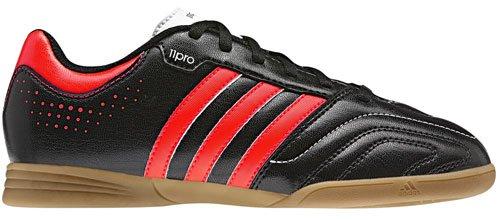 adidas Adidas Schuhe Hallen-fussball-schuhe 11Questra IN J black1/infre, Größe Adidas:28