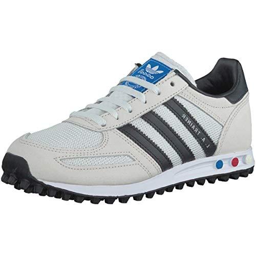 adidas LA Trainer, Scarpe da Ginnastica Basse Unisex – Bambini, Bianco (Vintage White/core Black/clear Brown), 31 EU