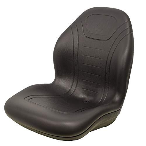 New 21' Tall Black Vinyl Seat Fits New Holland TC18 TC21 TC21D TC25D TC29D TC33 +