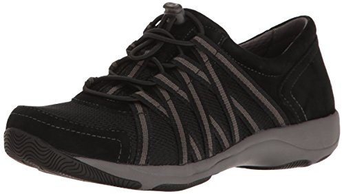 Dansko Women's Honor Black/Black Comfort Shoes 10.5-11 M US