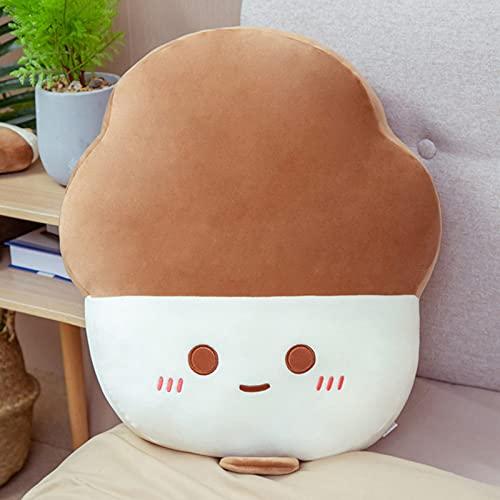 Ggwdhudta Tecknad glasskudde plyschleksak hemma kontor remsa sittande dyna tillbaka för att skicka flickvän gåva sommar cool