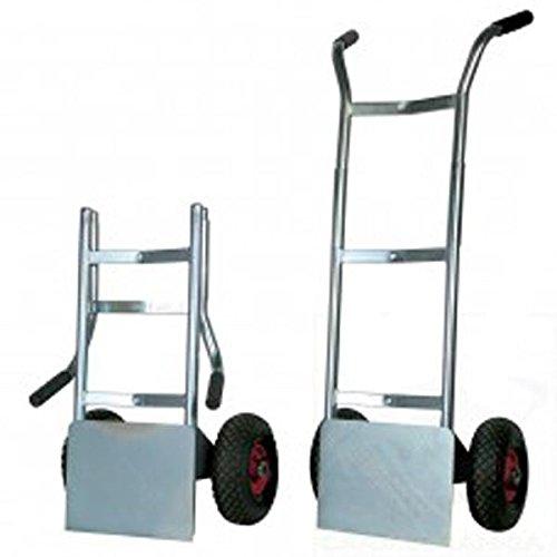 Carro portaequipajes–portasacchi Light con plataforma plegable 2ruedas neumáticas núcleo de nailon diámetro mm 260Art.009PL