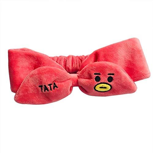 Fat Bear Kpop BTS haarband voor het gezicht vrouwen twist knot haarband H01
